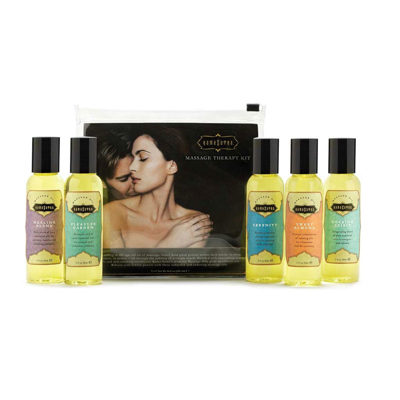 Kama Sutra Massage Therapy Kit (5) 2oz.