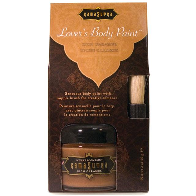 Kama Sutra: Rich Caramel Body Paint