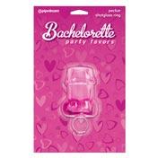 Bachelorette Party Pecker Shot Glass Ring Asst. Colors