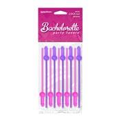 Bachelorette Party Favors Mini COCK-Tail Straws