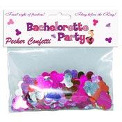 Bachelorette Pecker Confetti