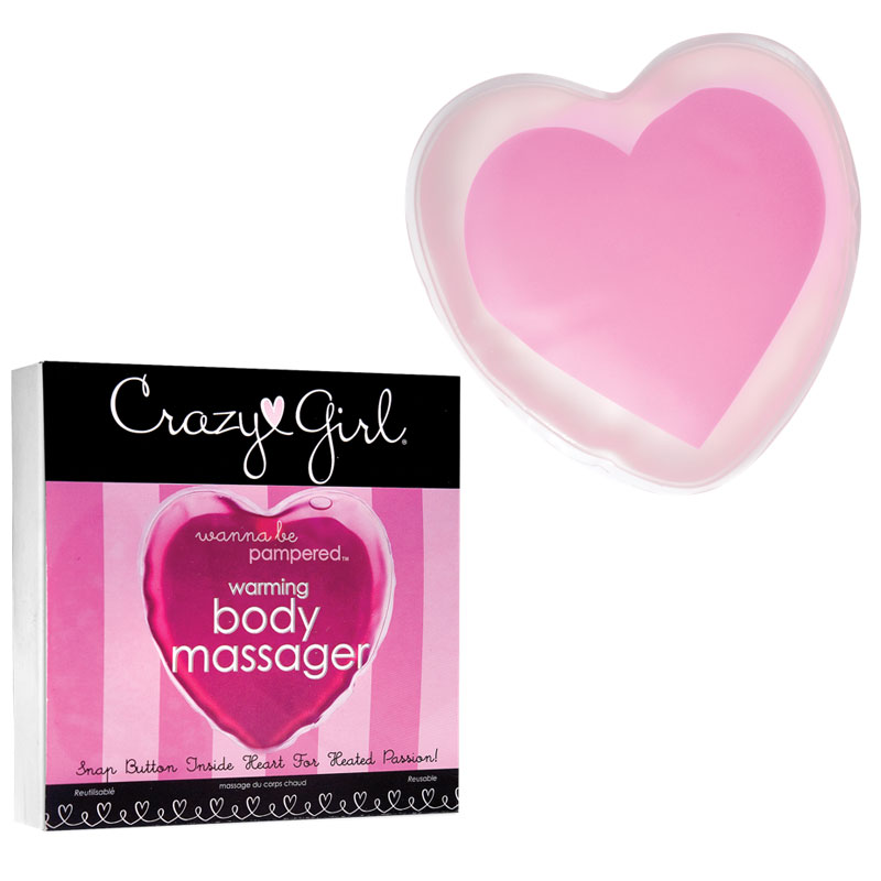 Crazy Girl Warming Body Massager