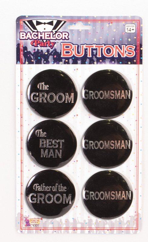 Bachelor Button Set (6pcs)