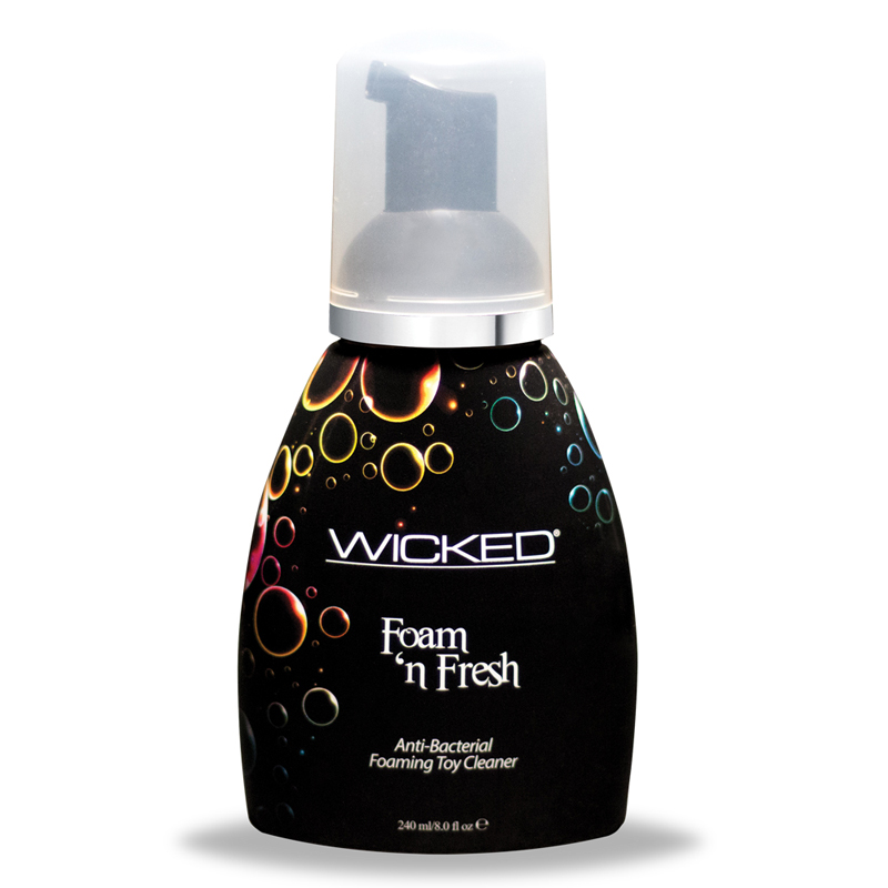 Wicked Anti-Bacterial Foaming Toy Cleaner 8oz.