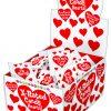Unprinted Heart Shaped Candy 3 Pieces Per Bag (100/DP)