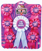 Bachelorette Award Ribbons Set of 7