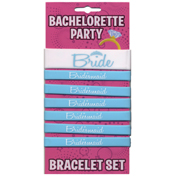 Bachelorette Party Bride Bracelet Set