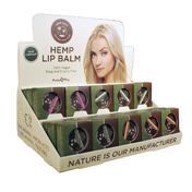 Earthly Body Hemp Lip Pot Asst DP (30pc