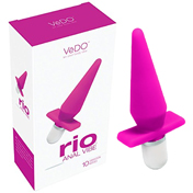 VeDO Rio Anal Vibe - Hot In Bed Pink - Women's