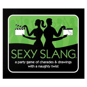 Sexy slang party game of charades & drawings