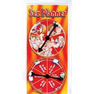 Sex planner spinner game