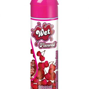Wet clear flavored body glide - 3.5 oz sweet cherry