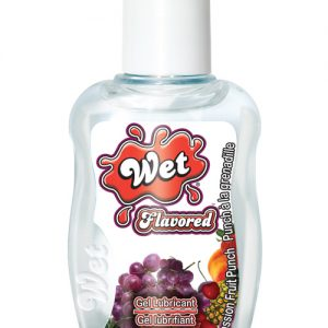 Wet clear flavor body glide travel size - 1.5 oz passion fruit