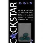 Cockstar sexual potency formula - 3 ct. gel capsule bottle