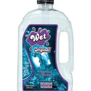 Wet original waterbased gel body glide - 1/2 gallon