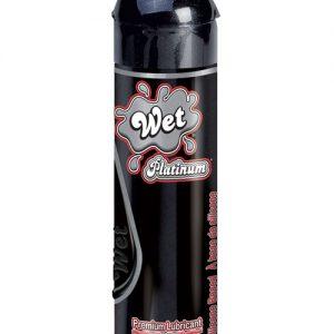 Wet platinum premium silicone based body glide - 3.1 oz bottle