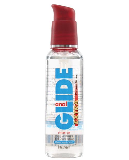 Anal glide extra desensitizer - 2 oz pump bottle