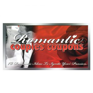 10 romantic couples coupon book