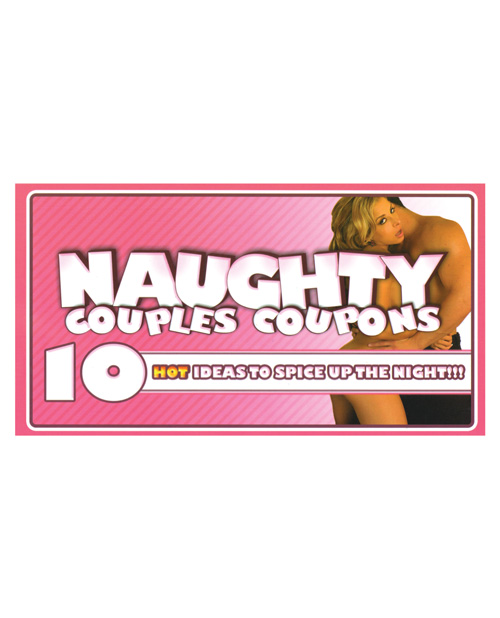 10 naughty couples coupon book