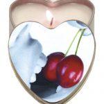 Earthly Body Edible Candle with Hemp -  4 oz heart tin cher