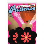 Pastease black & red daisy  o/s