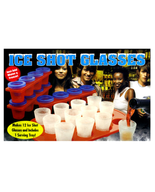 Ice shot glasses - set of 12