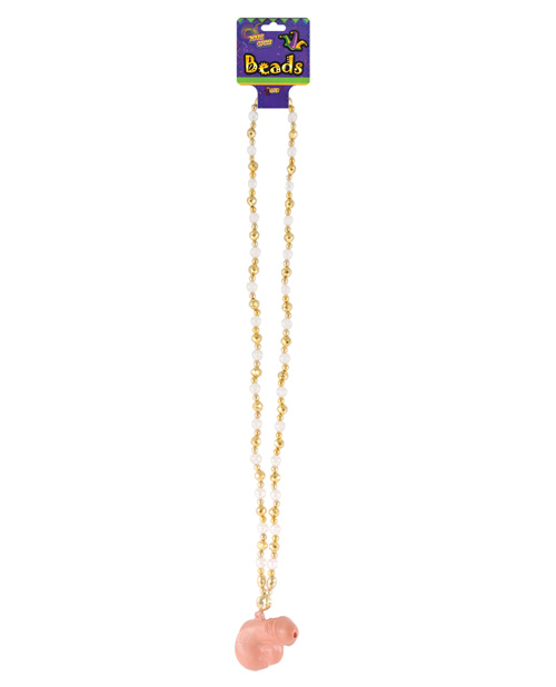 Mardi Gras Light Up Beads - Penis