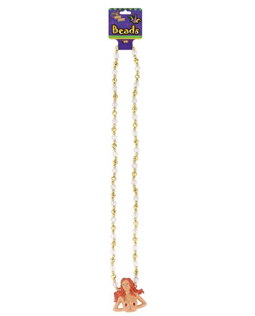 Mardi Gras Light Up Beads - Boobs