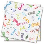 Dirty Dishes F-Bomb Napkins - Bag of 8