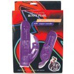 Ultimate bunny pearl vibrator - purple