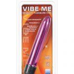 Vibe me multi speed massager waterproof - luster pink