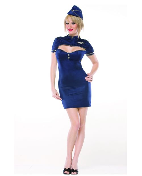 2 PC Retro Stewardess - Medium/Large