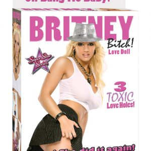 Britney Bitch Love Doll - 3 Toxic Love Holes