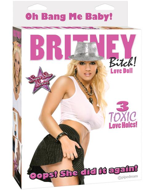 Britney Bitch Love Doll - 3 Toxic Love Holes