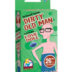 """26"""" travel-size dirty old man love doll"""