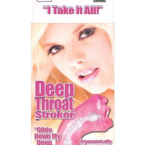 Deep throat stroker