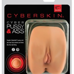 Cyberskin cyber pussy & ass - natural