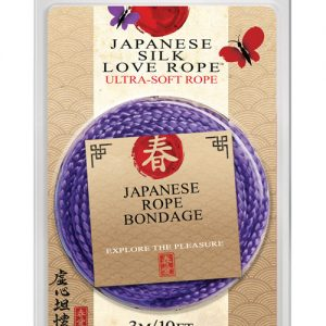 10' japanese love rope - purple