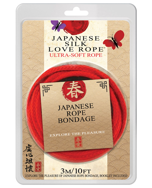 10' japanese love rope - red