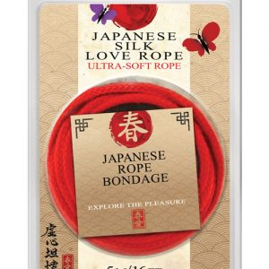 16' japanese love rope - red