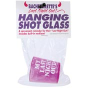 Bachelor's Or Bachelorette's Last Night Out Shot Glass