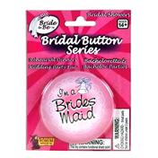 Bridesmaid Bridal Button