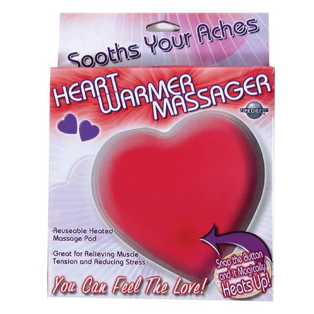 Heart Warmer Massager Red
