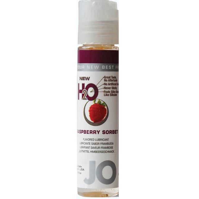 System Jo Flavored  1.oz Lube - Raspberry Sorbet