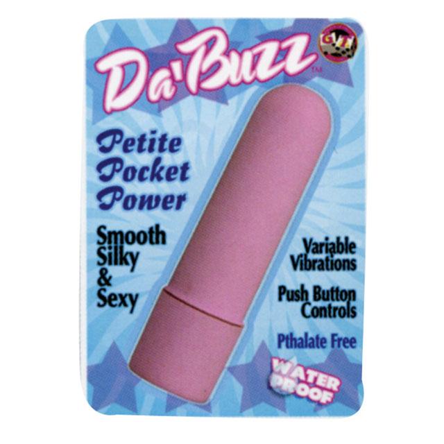 Da Buzz Mini Vibrator (Pink)