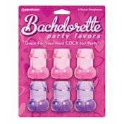 Bachelorette Party Pecker Shot Glasses Asst. Colors