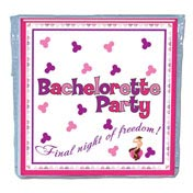 Bachelorette Napkins/Trivia Game (10)