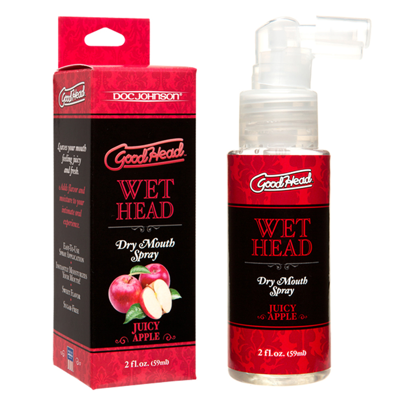 GoodHead - Wet Head - Dry Mouth Spray - Juicy Apple 2 fl oz