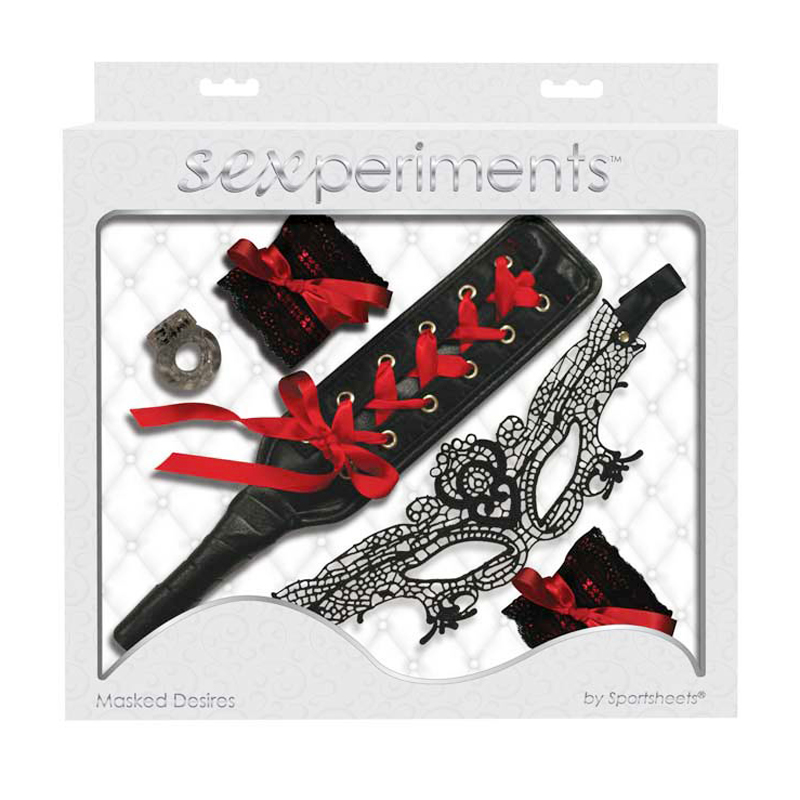 Sexperiments Masked Desires - Lace Mask
