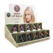 Earthly Body Hemp Lip Pot Asst DP (30pc